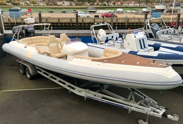 New & Second Hand RIBs & Engines for sale - Wahoo  10m Mercury Twin 300hp Verado   2008