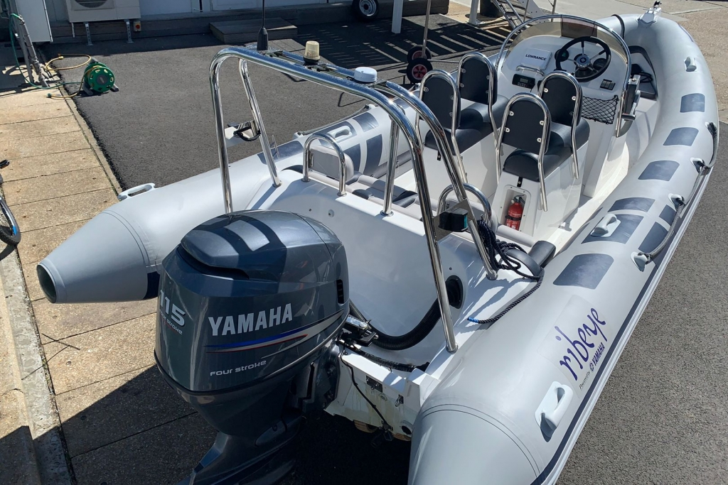 1651 - RIBEYE A600 RIB WITH YAMAHA F115A ENGINE AND TRAILER_2