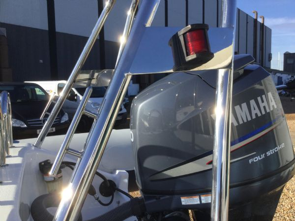 1439 - ribeye a600 rib with yamaha f100detl engine and trailer - cleat and nav light_l