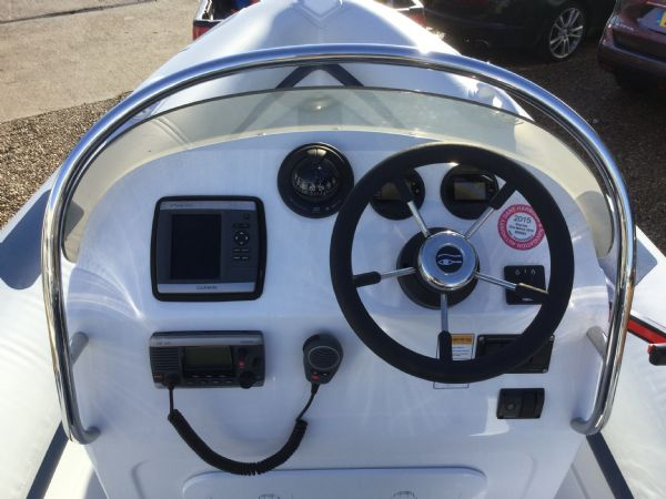 1439 - ribeye a600 rib with yamaha f100detl engine and trailer - helm and electronics_l