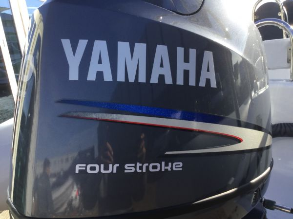 1439 - ribeye a600 rib with yamaha f100detl engine and trailer - yamaha engine cowling_l
