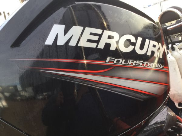 1449 - brokerage - xs600 rib with mercury 115 four stroke engine - engine cowling_l