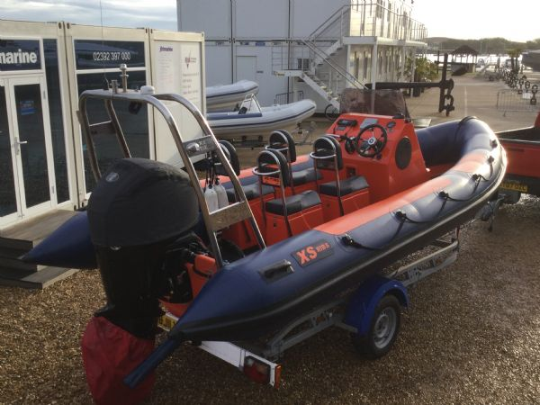 1449 - brokerage - xs600 rib with mercury 115 four stroke engine - rear starboard quarter_l