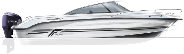 finnmaster 62 bow rider with yamaha engine - diagram of side_l