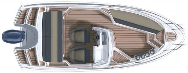 finnmaster 55sc boat with yamaha outboard engine - layout diagram of boat_l