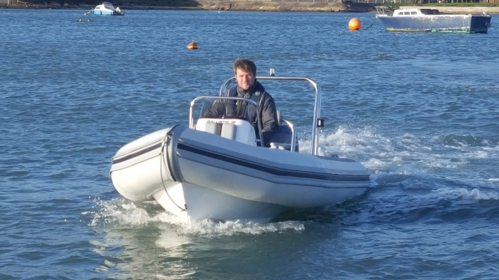 Click to see Ballistic 4.3m RIB with Yamaha F25HP Outboard Engine