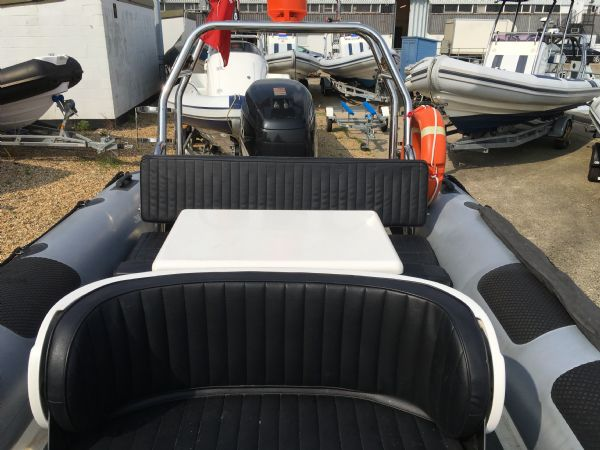 1431 - ribcraft 7.8m rib with suzuki 250hp outboard engine and trailer - seating_l