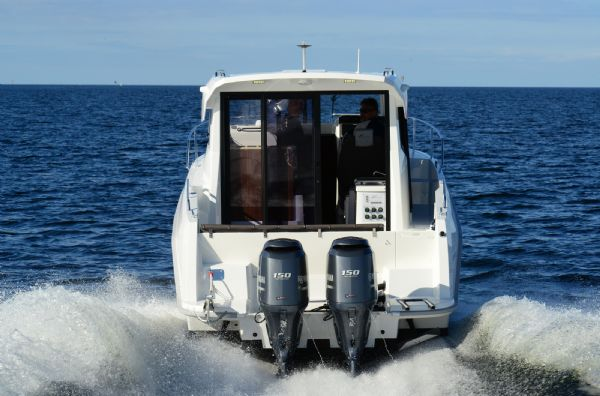 finnmaster pilot 8 with yamaha outboard engine - twin engine optional package_l