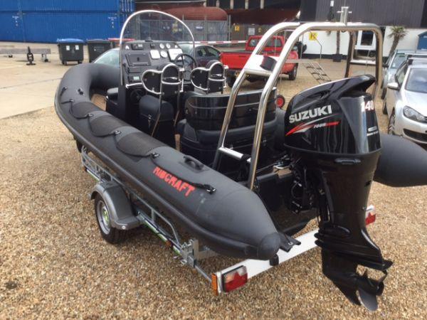 1434 - ribcraft 585 rib with suzuki 140hp outboard engine - main stern_l