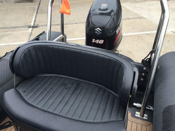 1434 - ribcraft 585 rib with suzuki 140hp outboard engine - rear bench seat_l
