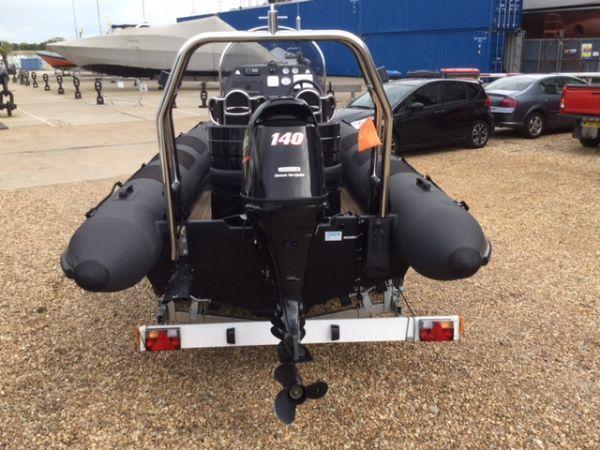 1434 - ribcraft 585 rib with suzuki 140hp outboard engine - stern_l