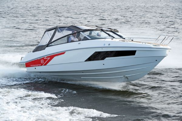 finnmaster t8 with yamaha outboard - bow shot with canopy_l