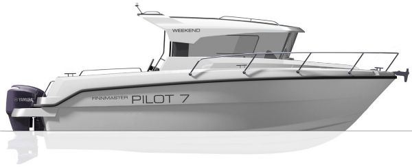finnmaster pilot 7 weekend with yamaha outboard engine - side boat diagram_l