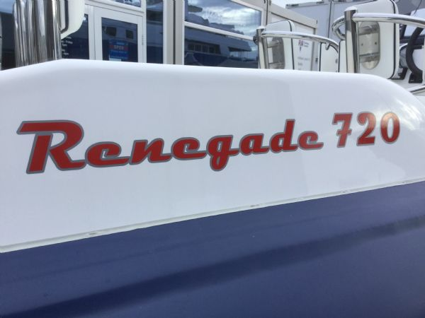 1429 - renegade 720 with mariner 150hp outboard engine and trailer - renegade logo_l