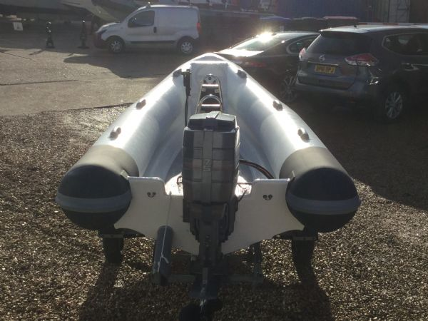 1425 - tornado 5.3m rib with mariner 75hp outboard engine and trailer - stern (2)_l