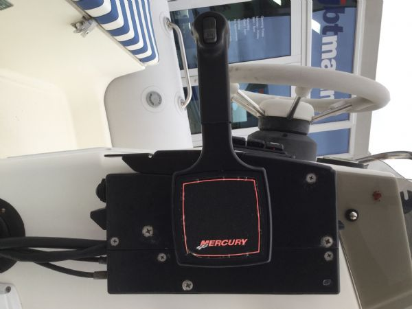 1409 - zodiac medline rib with mariner 60hp outboard engine and trailer - control box_l