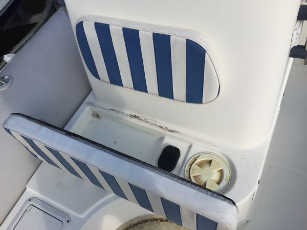 1409 - zodiac medline rib with mariner 60hp outboard engine and trailer - front console locker_l