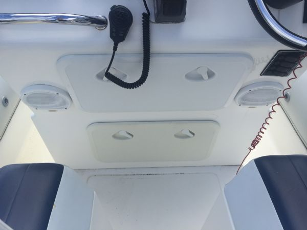 1419 - ballistic 7.8m rib with evinrude etec 250hp outboard engine and trailer - helm lockers_l