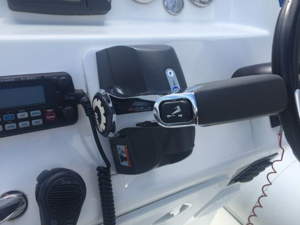 1419 - ballistic 7.8m rib with evinrude etec 250hp outboard engine and trailer - throttle_l