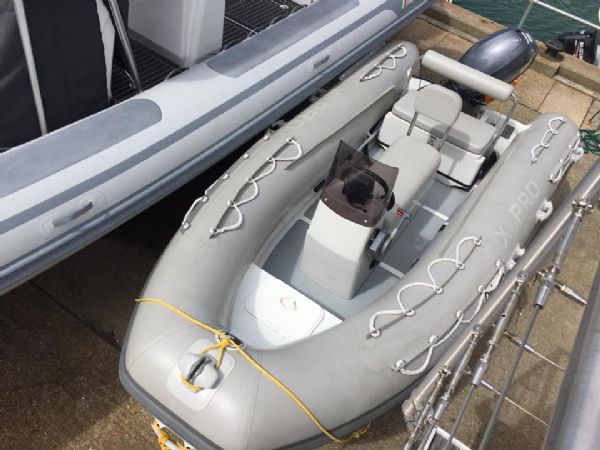 1414 - x pro sea rover 4.2m rib with yamaha f30hp outboard engine and trailer - main_l