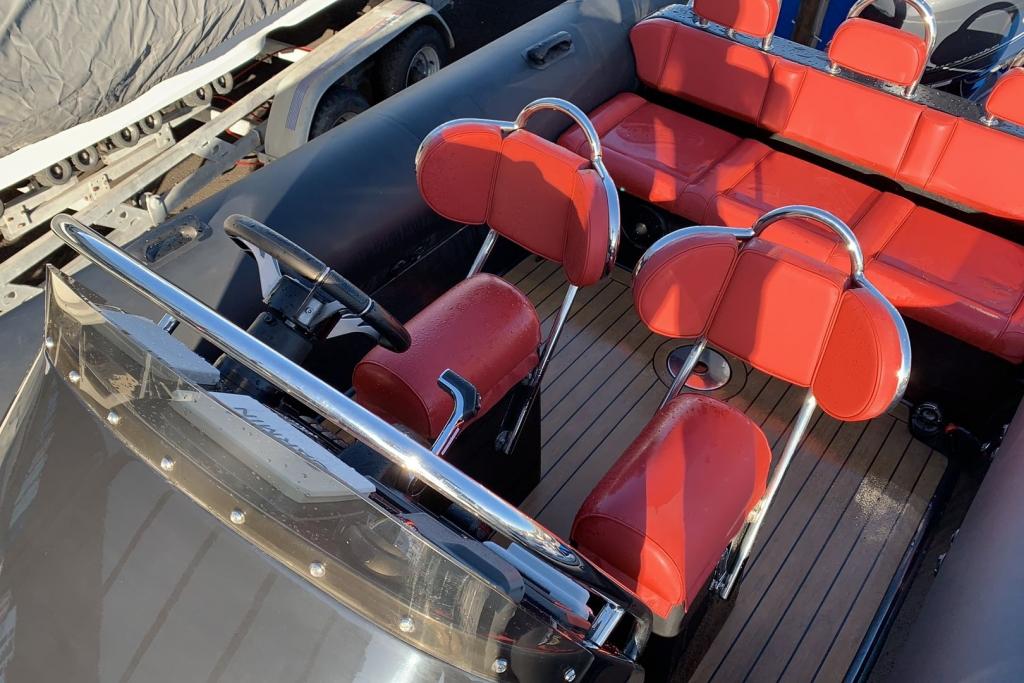 1635 - Brokerage - Ribeye 650S with Yamaha F200GET engine and trailer - Console jockey seats