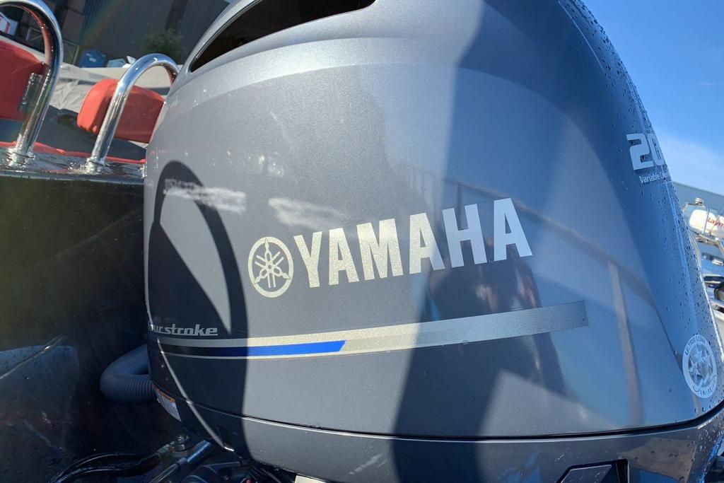 1635 - Brokerage - Ribeye 650S with Yamaha F200GET engine and trailer - Yamaha logo