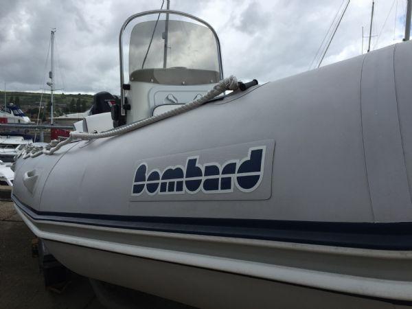 1393 - bombard 640 rib with suzuki 140hp outboard engine and trailer - logo_l