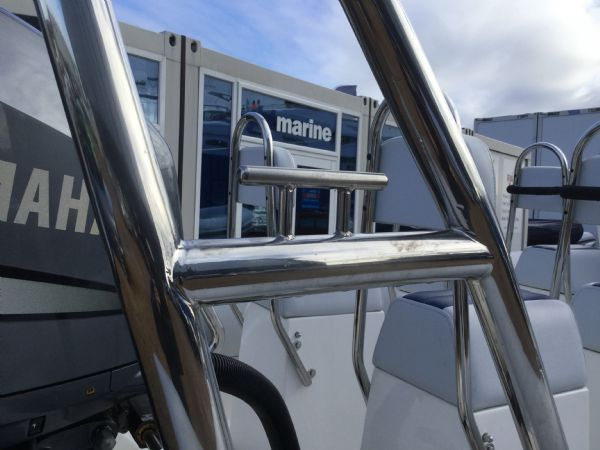 1404 ballistic 7.8m rib with yamaha 250hp outboard engine and trailer - high cleat_l