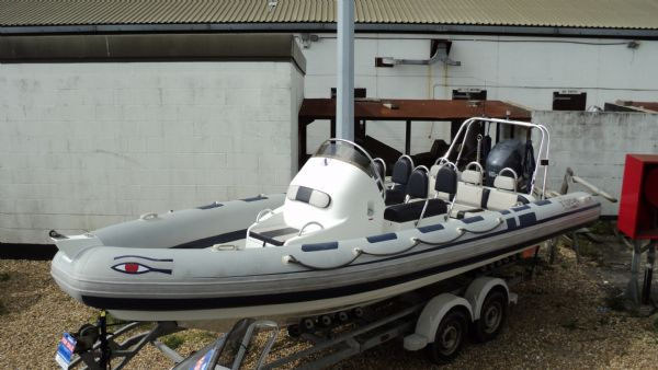 Used Ribeye 6 5m RIB with Yamaha F150HP Outboard Engine