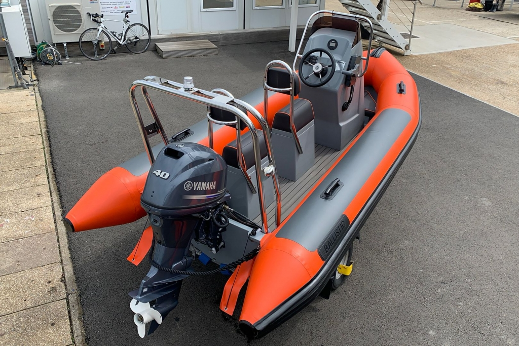 1601 - BALLISTIC 4.2 CLUB RIB WITH YAMAHA F40 ENGINE._2