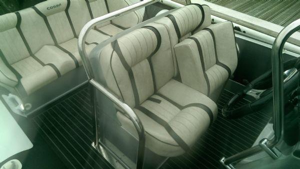 cobra 7.6 rib with 250 mercury verardo - helm seats _l