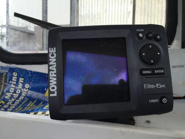 cygnus marine 21 fishing boat with beta 35hp diesel - fishfinder_l