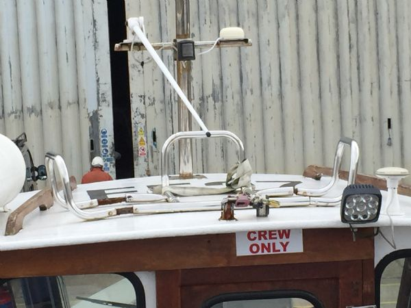 cygnus marine 21 fishing boat with beta 35hp diesel - roof_l