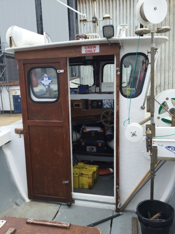 cygnus marine 21 fishing boat with beta 35hp diesel - wheelhouse_l