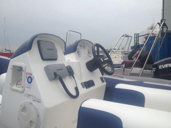 avon 560 rib with honda 115 outboard motor helm nav equipment_l