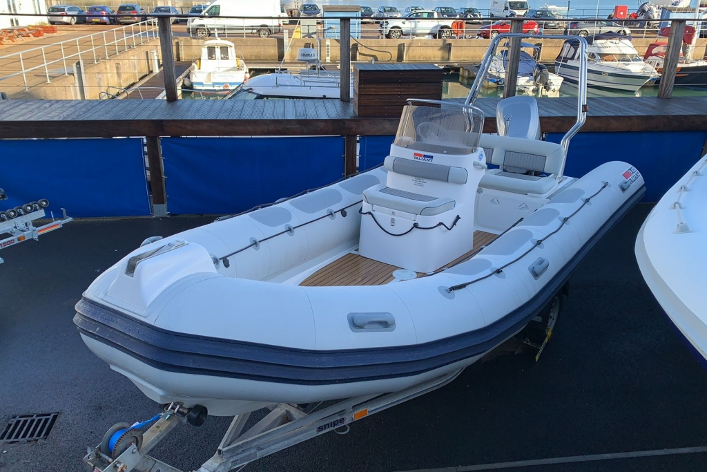 Click to see Pre-owned Valiant 620 RIB with Mariner Optimax 150hp