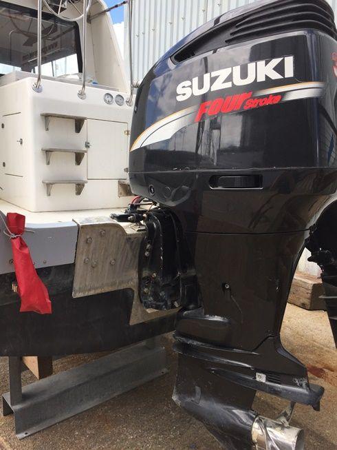 Used 10m Cabin RIB with Suzuki DF 300HP Outboard Engine