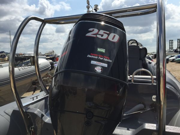 ribquest 7.3 rib with suzuki df250 and trailer - suzuki df250_l