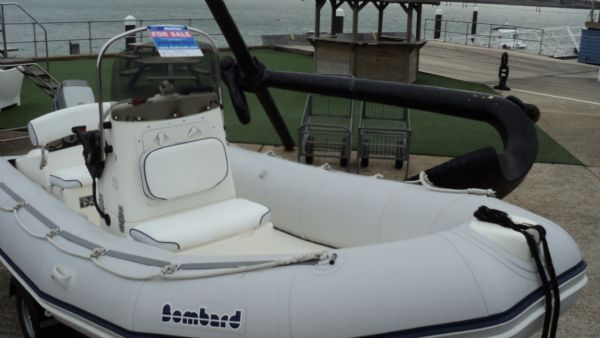stock - 1291 - bombard 480 rib with mariner 40 two stroke - bow area_l