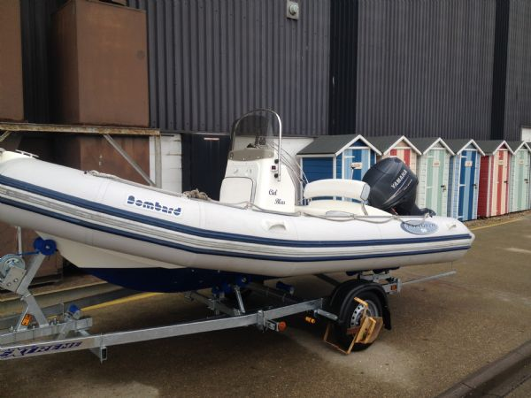 Click to see Bombard 5.0m RIB with Yamaha 60HP Outboard Engine and New Trailer