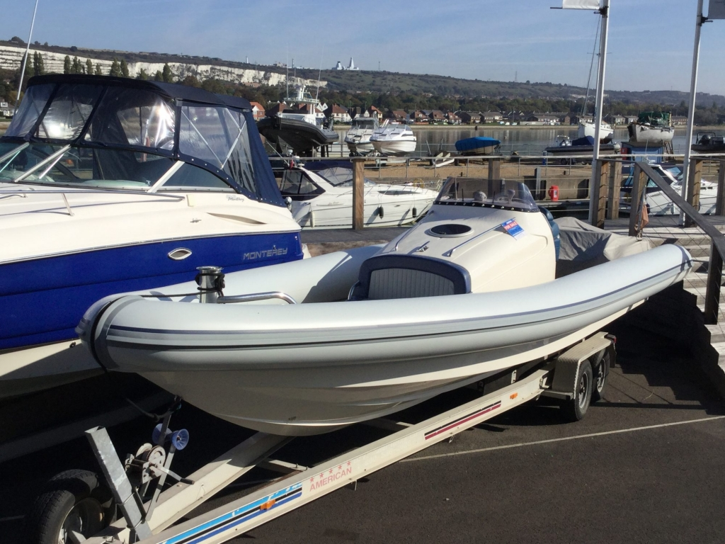 Click to see Cougar 10m RIB with Yanmar inboard diesel engine