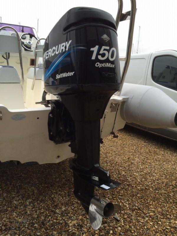 ballistic 6.5m rib with 150hp mercury optimax outboard_l