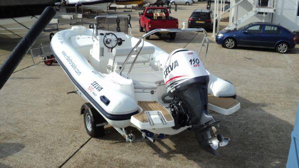stock - 1286 - selva d630 emotion rib with selva 150 xsr engine - rear port quarter_l