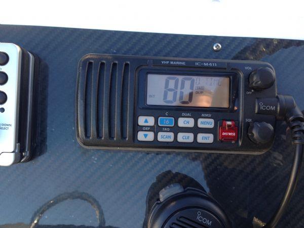 rib x 760 rib with suzuki df 200 - icom vhf_l