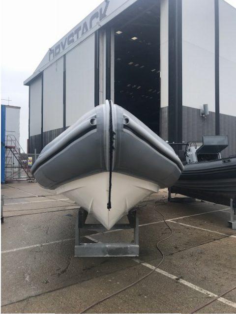 Brokerage -1610 Coastline 8.6m Rib with suzuki 300hp engine - Bow