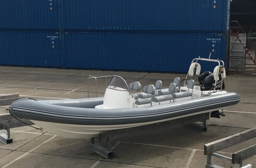 Brokerage -1610 Coastline 8.6m Rib with suzuki 300hp engine