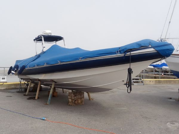 cougar r11 with twin yanmar 260hp - full cover_l