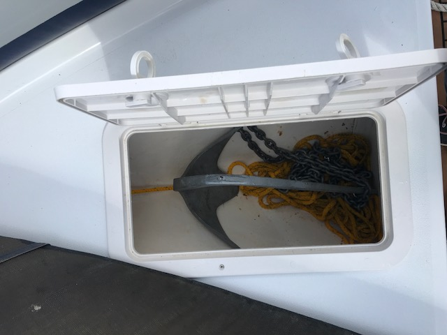 Stock - 1599 - Ribeye 785S Rib with Yamaha 250hp engine -Anchor locker