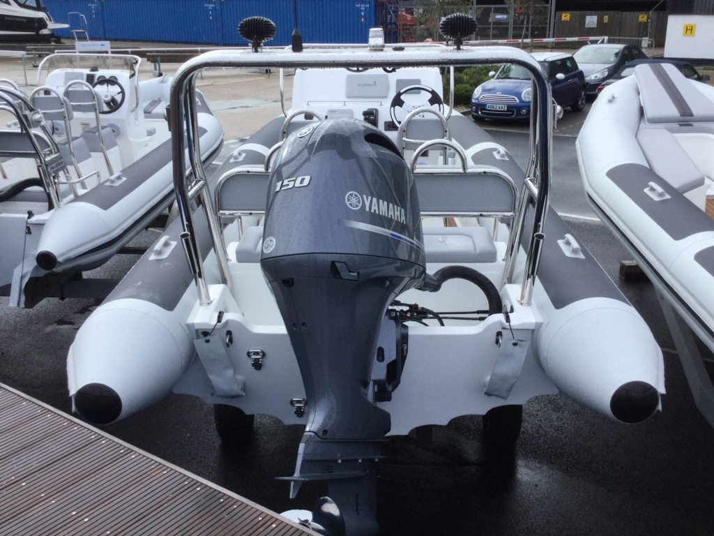 Stock -1537 - Ballistic 650 Sport with Yamaha F150GETX engine - Aft1