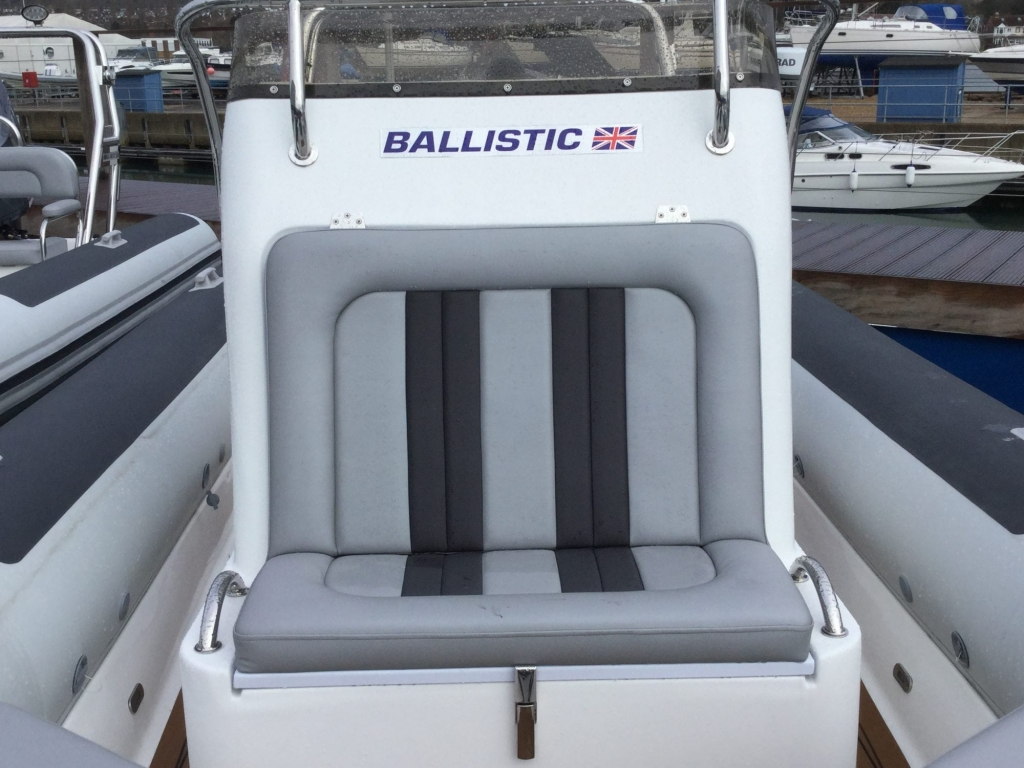 Stock -1537 - Ballistic 650 Sport with Yamaha F150GETX engine - Console Seat